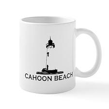 """Cahoon Beach """"Lighthouse"""" Design. Mug"""