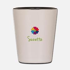 Suzette Valentine Flower Shot Glass