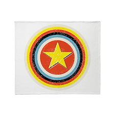 Bullseye Star Throw Blanket