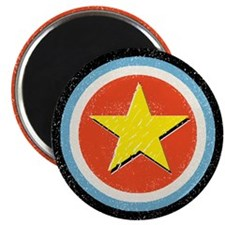 """Bullseye Star 2.25"""" Magnet (100 pack)"""