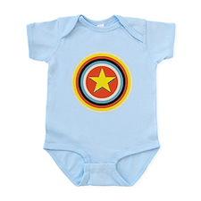 Bullseye Star Infant Bodysuit