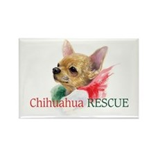 Chihuahua RESCUE Rectangle Magnet
