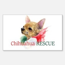 Chihuahua RESCUE Decal