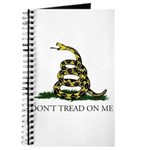 Don't Tread On Me Snake Journal