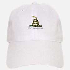 Don't Tread On Me Snake Baseball Baseball Cap