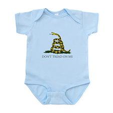 Don't Tread On Me Snake Infant Bodysuit