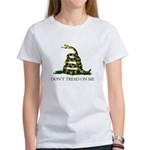 Don't Tread On Me Snake Women's T-Shirt