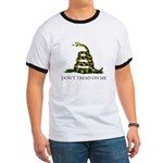 Don't Tread On Me Snake Ringer T