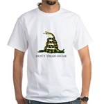 Don't Tread On Me Snake White T-Shirt