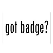 got badge? Postcards (Package of 8)