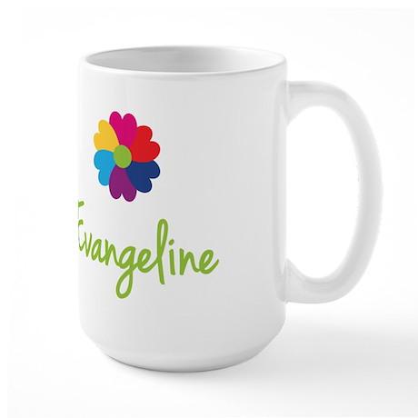 Evangeline Valentine Flower Large Mug