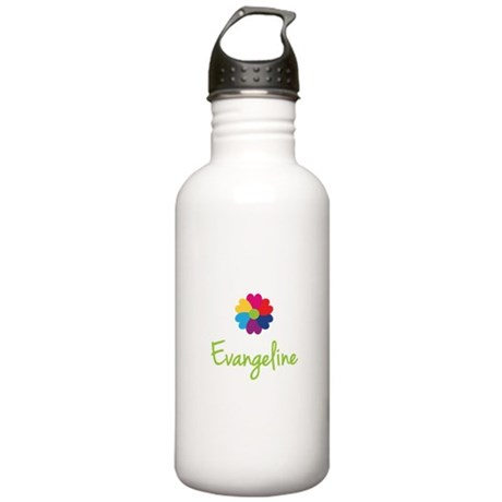 Evangeline Valentine Flower Stainless Water Bottle
