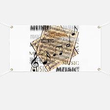 Vintage Music Banner