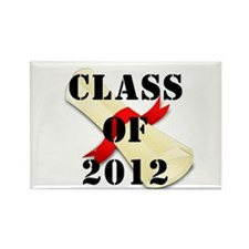 Class of 2012 Rectangle Magnet