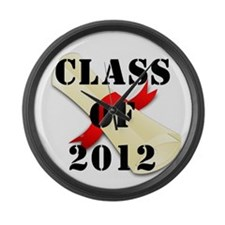 Class of 2012 Large Wall Clock