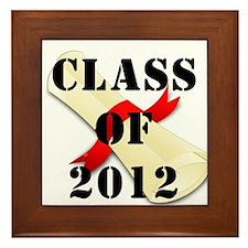 Class of 2012 Framed Tile