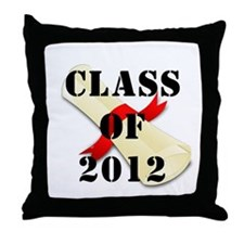 Class of 2012 Throw Pillow