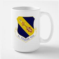 4th Fighter Wing Large Mug