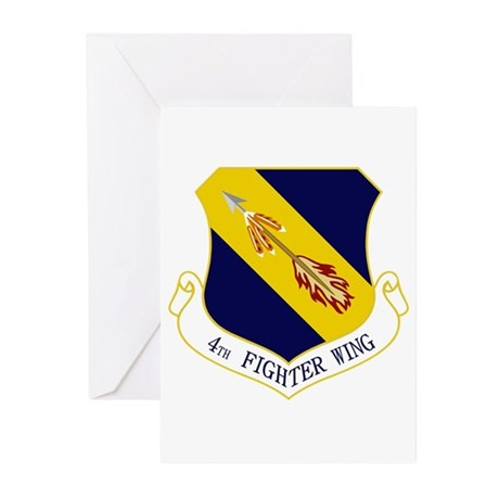 4th Fighter Wing Greeting Cards (Pk of 20)
