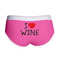 I Love Wine Women's Boy Brief