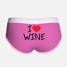 I Love Wine Women's Boy Brief