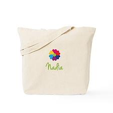 Nadia Valentine Flower Tote Bag
