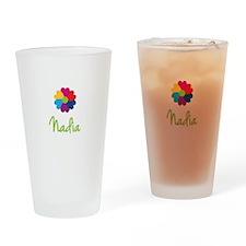 Nadia Valentine Flower Drinking Glass