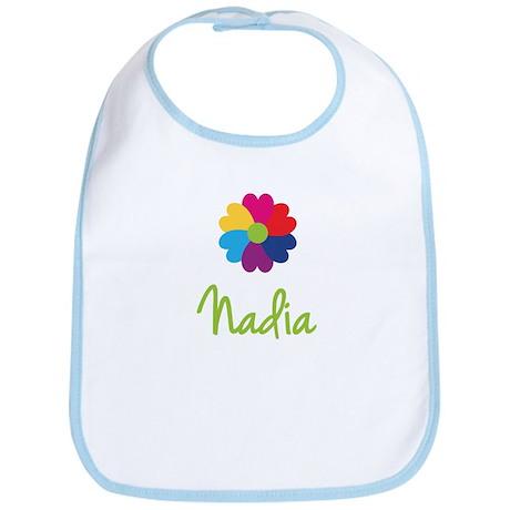 Nadia Valentine Flower Bib