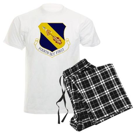 4th Fighter Wing Men's Light Pajamas