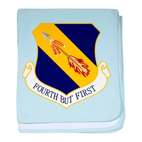 4th Fighter Wing baby blanket