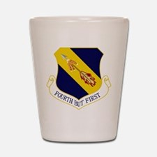 4th Fighter Wing Shot Glass
