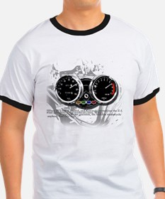 Tach for white T-Shirt