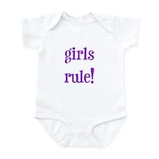 Girls Rule Infant Creeper
