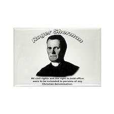 Roger Sherman 01 Rectangle Magnet