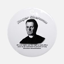 Roger Sherman 01 Ornament (Round)