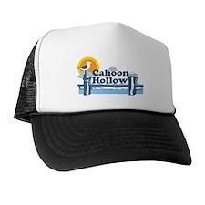"Cahoon Beach ""Pier"" Design. Trucker Hat"