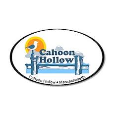 "Cahoon Beach ""Pier"" Design. 22x14 Oval W"