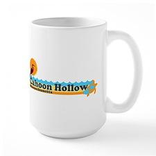 """Cahoon Beach """"Beach"""" Design. Mug"""