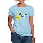 Guitar Face Women's Light T-Shirt