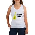 Guitar Face Women's Tank Top