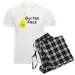 Guitar Face Men's Light Pajamas
