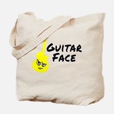 Guitar Face Tote Bag