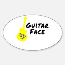 Guitar Face Decal