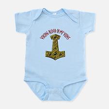 Viking Blood In My Veins XRA Infant Bodysuit