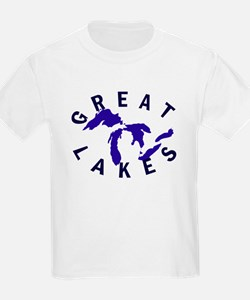 Great Lakes shirts, stickers, T-Shirt