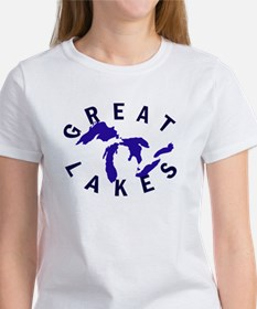 Great Lakes shirts, stickers, Tee