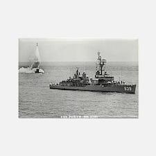 USS POWER Rectangle Magnet