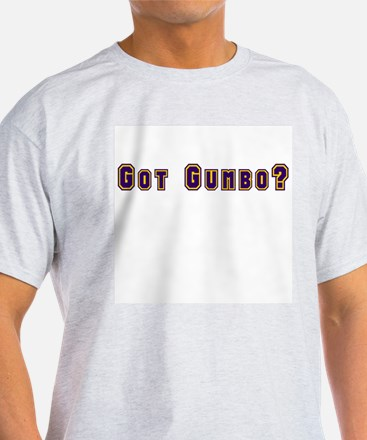 Got Gumbo? Ash Grey T-Shirt