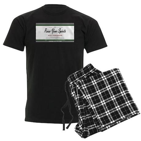 Raise Your Spirits Men's Dark Pajamas