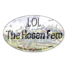 LOL The Hosen Few™ Painting Oval Decal